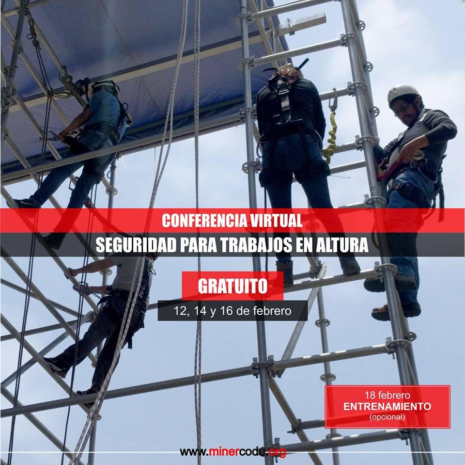 Conferencia Virtual - Seguridad para Trabajos en Altura